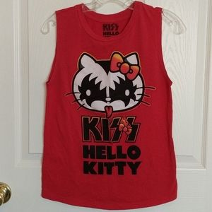 KIZZ Hello Kitty Muscle Shirt Size Small